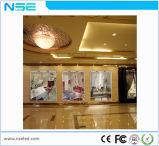 Chinês P7.5mm Janela de vidro interior de alto brilho de tela de LED
