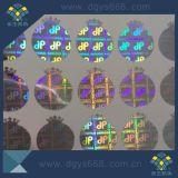 Design personalizado etiqueta holográfica Holográfico de alta resolução com efeito Rainblow