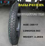 PUNKT Zustimmungs-haltbarer Motorrad-Reifen für Thailand-Markt (3.00-17)