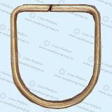 """Anelli a """"D"""" del metallo di alta qualità degli accessori dell'indumento"""