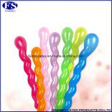 Spiraalvormige Ballon van de Steekproeven van China de Vrije, de Verdraaide Ballon van het Latex
