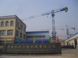 중국 세륨은 18t에게 판매를 위한 토플리스 탑 기중기 Hst7052를 통과했다