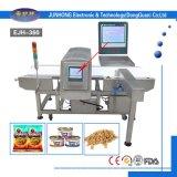 Detector de metales de la seguridad alimentaria para la carne de vaca y el pollo