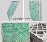 Filtro de ar descartável da fibra sintética do frame do cartão