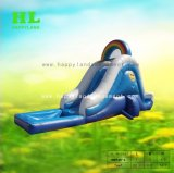子供の進化のスポーツのゲームのためのカスタマイズされた流行車の形様式の膨脹可能な冷水のスライド