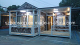 Casa de vacaciones móvil/chalet prefabricados de la paga inferior experta del surtidor/prefabricados para la venta caliente