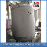 Tanque de armazenamento vertical do aço inoxidável