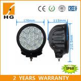 6 '' lampada chiara rotonda del camion di alto potere 90W del LED