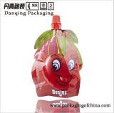 중국 열 - 물개 부대 유일한 모양 딸기 포장은 주둥이를 가진 주머니를 위로 서 있다