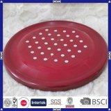 Logotipo y color personalizados Frisbee de plástico redondo de alta calidad