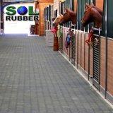 馬の安定した連結のゴム製床の私タイル