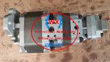 Usine---705-95-03020 de la pompe hydraulique à engrenages pour les camions à benne Komatsu HD605-7. Pompe de pièces automobiles465-7 HD