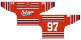 Hokey di ghiaccio domestico personalizzato della strada dei General 1962-1971 di Oshawa della Lega di Hockey di Ontario Jersey