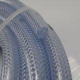 Mangueira de plástico reforçado com fibra Non-Toxic claro para Applicatiom Industriais