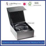 Boîte en carton rigide de bloc supérieur pour l'empaquetage de cadeaux de l'électronique