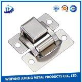 Serviço de estampagem de precisão OEM extrusões de alumínio de metal da caixa de travamento do cinto de Estampagem Industrial