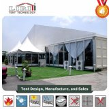 Parte lateral do vidro de tenda de luxo para o evento para venda
