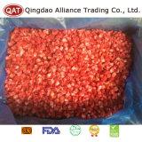Gefrorene hochwertige gewürfelte Erdbeere