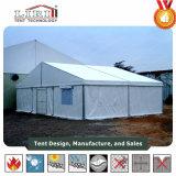 Алюминиевое воинское земледелие ангара шатер с зеленой тканью PVC