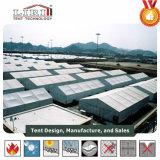 Agricultura militar de aluminio del hangar que cultiva la tienda con la tela verde del PVC