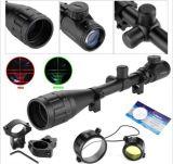 6-24*50aoeg que busca alcance óptico iluminado verde rojo del rifle del arma del Milipulgada-PUNTO