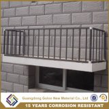 高品質によって電流を通されるアルミ合金のバルコニーの塀、機密保護の柵、バルコニーの手すり