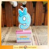 Bougie d'anniversaire du dessin animé des enfants pour la fête d'anniversaire