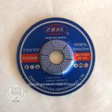 5''/rodas de polimento com roda de corte pressionado Center para metais