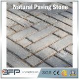 安い価格のペーバー、私道のための自然な胆ばんまたは玄武岩または砂岩または花こう岩の敷石