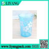 Design de cor branca simples, filme de transferência de calor para copa de plástico