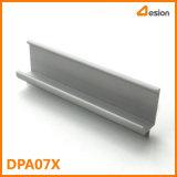 Profil d'extrusion de la poignée en aluminium de DPA07X
