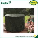 Coperchio stabilito del giardino della tavola rotonda del patio domestico della mobilia