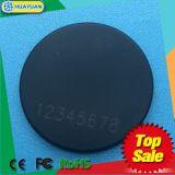 耐久LF/HF/UHFの固着RFIDの洗濯の札