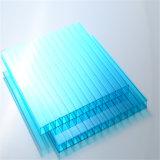 Twin-Wall Polycarbonate Folha oca para toldo