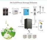 태양 전지판을%s 가진 5kw 떨어져 격자 시스템 리튬 이온 건전지 태양 에너지 시스템