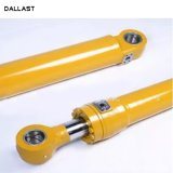 Flange de cromo de dupla acção usado Loader do Cilindro Hidráulico Industrial para venda