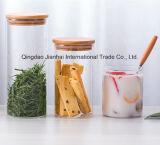 De vidro borossilicato de alta bebendo Misturador com torneira em aço inoxidável
