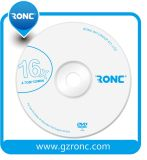 Vrije Steekproeven Lege dvd-R/+R met Ronc of Aangepast Embleem