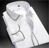 Saia di 100%Cotton degli uomini con legare le camice tessute