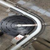 Sistema piano del nastro trasportatore di girata dei sushi