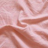 Gyptian Qualitätsvibrierender Stein gewaschenes Microfiber rosafarbenes Duvet-Deckel-Königin-Größe 3 PCS-Set