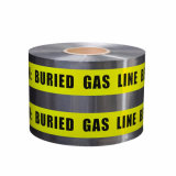 BOPP/Al/PE材料の地下の探索可能な警告または注意テープ