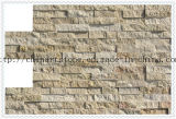 Желтая природы каменная, золотистая, бежевая мраморный плитка для стены