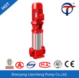 Вертикальный встроенный обеспечивая циркуляцию электрический пожарный насос