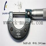 Ck-240 aimant NdFeB Grade φ 0,3*1mm