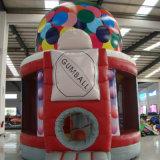 Castello Colourful gonfiabile personalizzato della trasparenza