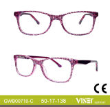 Le monocle de montures de lunettes de modèle de l'Italie encadre 710 a