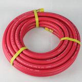 Wp 20 ID de barre de 10 mm 3/8 de pouce tressé en fibre flexible à air en caoutchouc du compresseur
