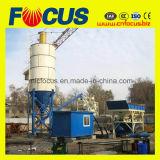 Энергосберегающий малый готовый смешанный конкретный дозируя завод Hzs25