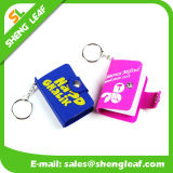 Prêmio Promocional Custom 3D Rubber Key Chain Notebook Product